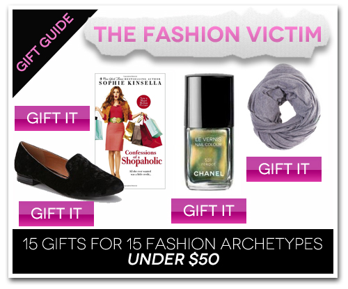 15 Gifts for 15 Fashion Archetypes For Under $50 Gift Guide: The Fashion Victim