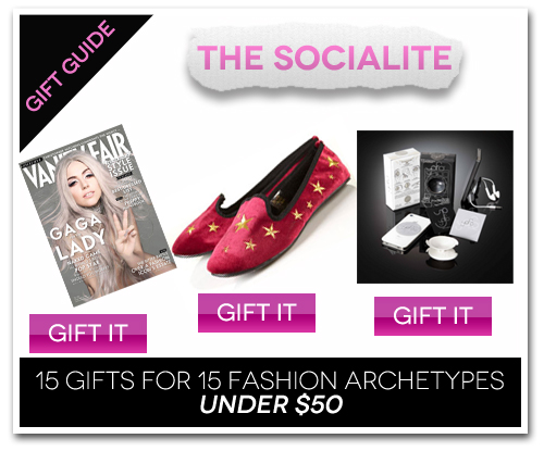 15 Gifts for 15 Fashion Archetypes For Under $50 Gift Guide: The Socialite