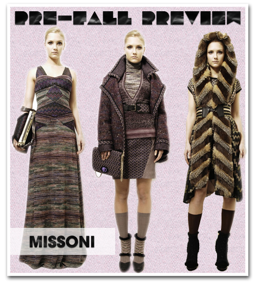 Collection Preview: Missoni Pre-Fall 2012