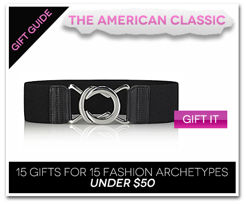 15 Gifts for 15 Fashion Archetypes For Under $50 Gift Guide: The American Classic