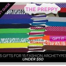 15 Gifts for 15 Fashion Archetypes For Under $50 Gift Guide: The Preppy
