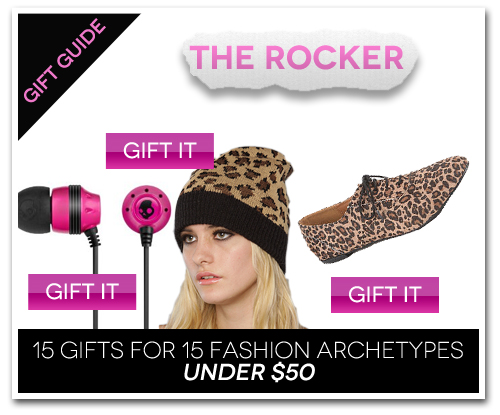 15 Gifts for 15 Fashion Archetypes For Under $50 Gift Guide: The Rocker