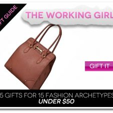 15 Gifts for 15 Fashion Archetypes For Under $50 Gift Guide: The Working Girl