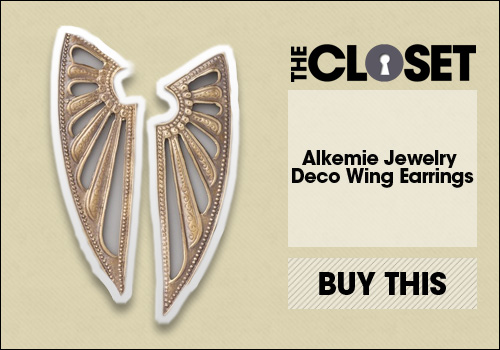 Alkemie Jewelry Deco Wing Earrings