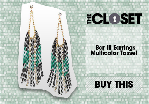 Bar III Earrings, Multicolor Tassel Earrings 
