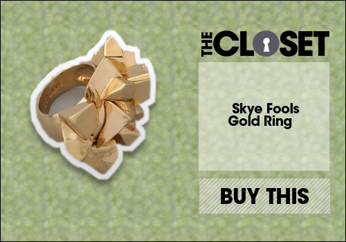 Cc Skye Fools Gold Ring