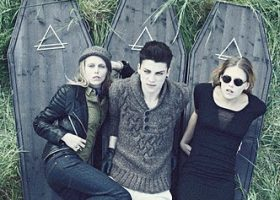 Courtesy Photo. Eleven Paris F/W 2011 Ad Campaign with Theodora and Alexandra Richards and Ash Stymest.