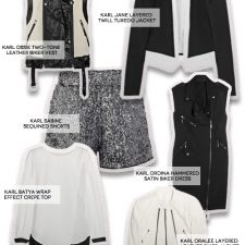 Lagerfeld's KARL Collection Launches at Net-a-Porter