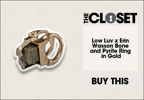 Low Luv x Erin Wasson Bone Ring