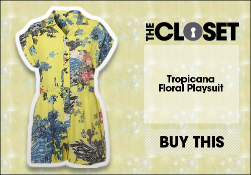 Tropicana Floral Playsuit