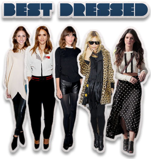This Week's Best Dressed: Olivia Palmero, Jessica Alba, Alexa Chung, Kate Moss and Shenae Grimes