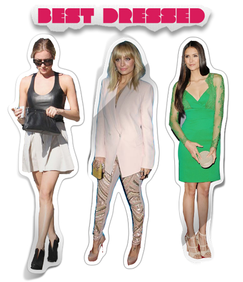 This Week's Best Dressed: Kristin Cavallari, Nicole Richie and Nina Dobrev