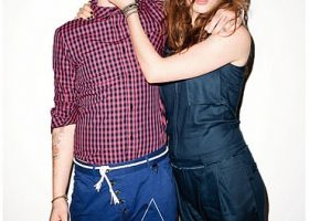 Eleven Paris Ad Campaign Featuring Tali Lennox and Ash Stymest. Photographed by Terry Richardson