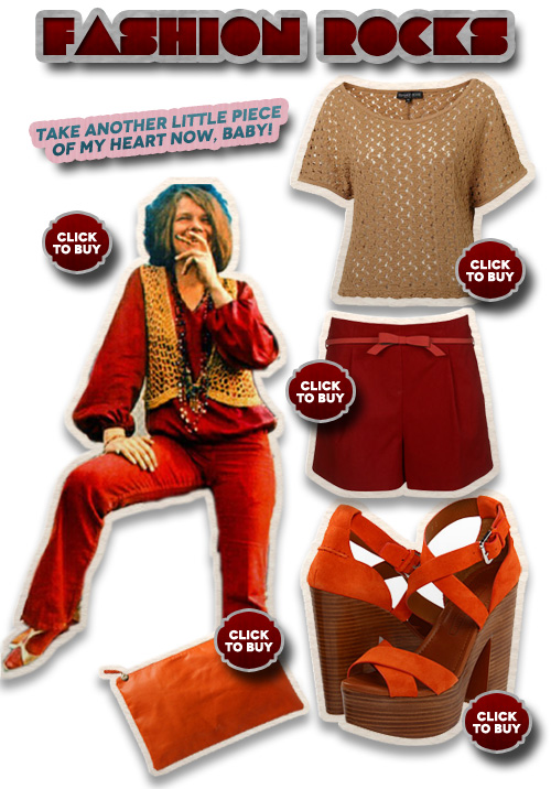 Fashion Rocks: Janis Joplin's Style Revisited