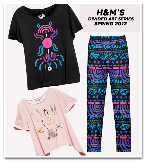 PREVIEW: H&M Divided Art Spring 2012 Collection