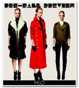 Preview: McQ Pre- Fall 2012