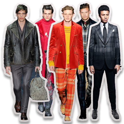 On The Runway Menswear 2012 Trend Report
