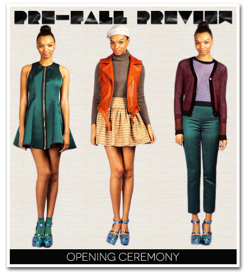 PREVIEW: Opening Ceremony Pre-Fall 2012