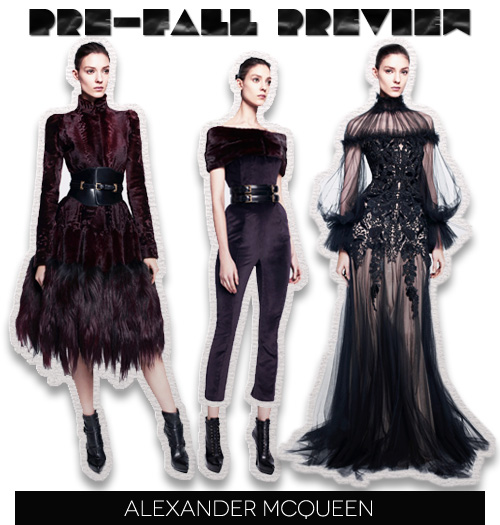 Pre-Fall 2012 Preview: Alexander McQueen