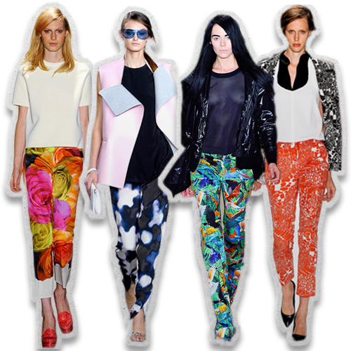 Perfectly Printed: The New Statement Pants for Spring