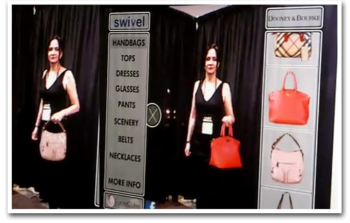 Swivel Virtual Dressing Room Takes the Hassle Out of Trying On Clothes