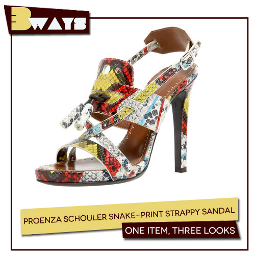 3 Ways to Wear the Printed Statement Shoe