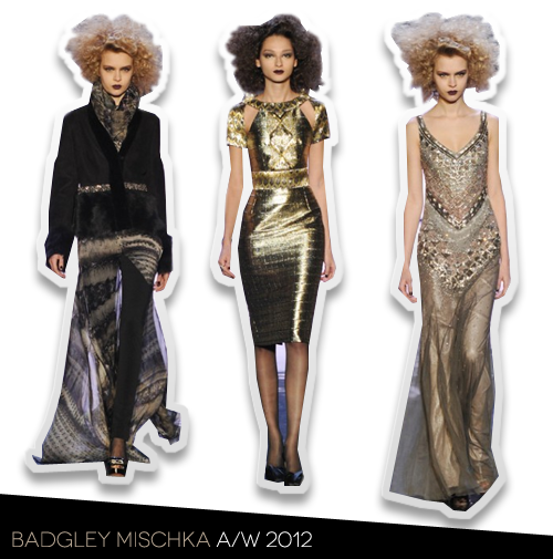 NYFW Report: Badgley Mischka A/W 2012 Presentation
