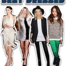 This Week's Best Dressed: Rooney Mara, Kate Moss, Anja Rubik and Jamie Chung