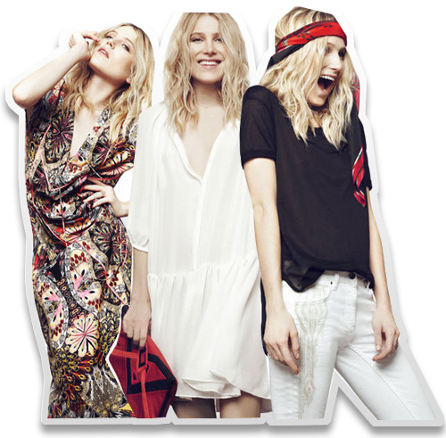 Dree Hemingway Unveils 10-Piece Capsule Collection for Sandro
