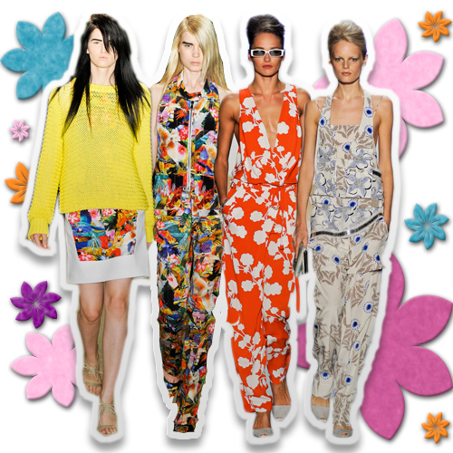 Go Flirty with  Fun Florals In Our Seasonably Spring Look
