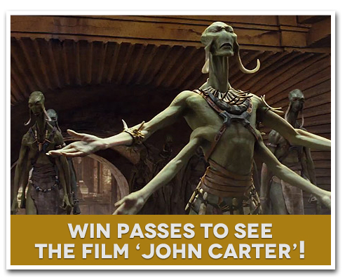 MO Giveaway: Win Free Advance Screening Pass to See 'John Carter'