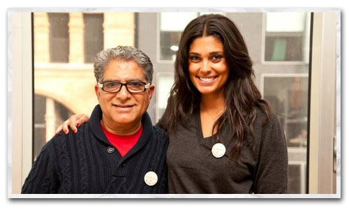 Rachel Roy and Deepak Chopra to Partner for New Fashion Line