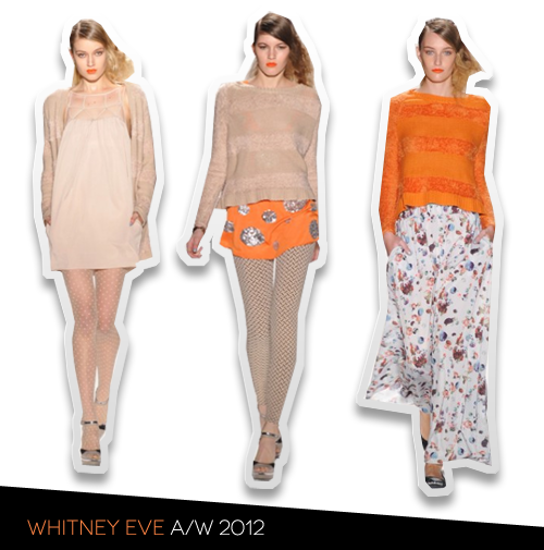 NYFW Report: Whitney Eve A/W 2012 Presentation