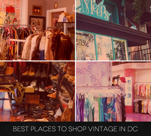 Best Places to Buy Vintage Clothing in D.C.
