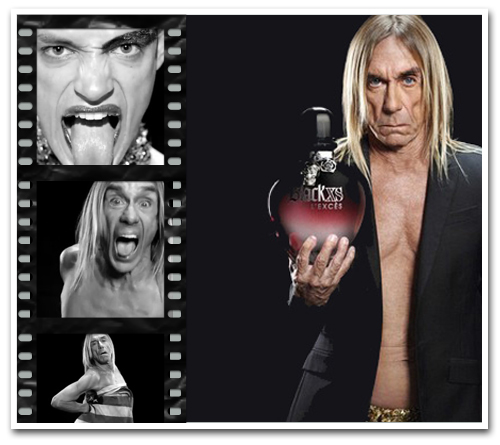 Iggy Pop Fronting Perfume Commercials Confirms that Punk Is Officially Dead