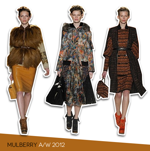 London Fashion Week: Mulberry Autumn/Winter 2012