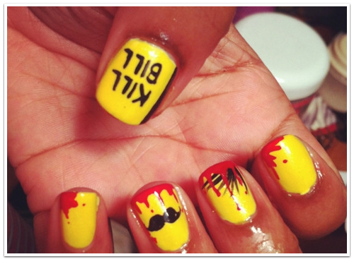 Nail Art Meets Film: Incredible Nail Art Inspired by Cinema and TV