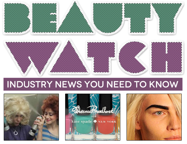 Beauty Watch: Poppy King and Kate Spade Join Forces, Spider-Man to Launch OPI Line, 'Funny or Die' Spoofs 80's Beauty