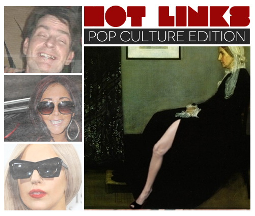 Hot Links — Pop Culture Edition: Michelle Obama Gets Jolie Leg Bombed, Oprah and Gaga Team Up, a Young Carrie Bradshaw is Cast
