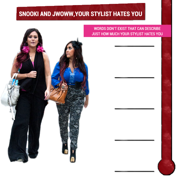 Snooki And JWoww, Your Stylist Hates You