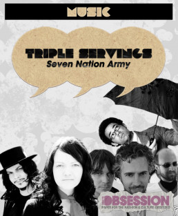 """Triple Servings: """"Seven Nation Army"""" Served by the White Stripes, the Flaming Lips and Ben l'Oncle Soul"""