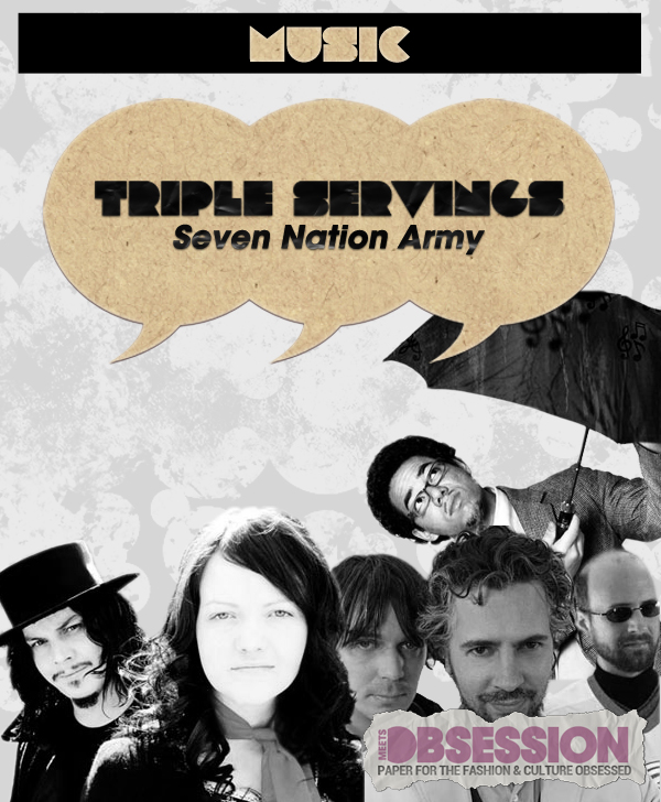 "Triple Servings: ""Seven Nation Army"" Served by the White Stripes, the Flaming Lips and Ben l'Oncle Soul"
