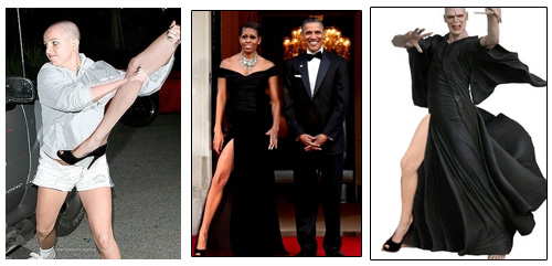 Hot Links  Pop Culture Edition: Michelle Obama Gets Jolie Leg Bombed, Oprah and Gaga Team Up, a Young Carrie Bradshaw is Cast