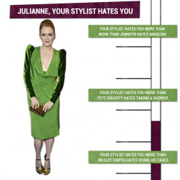 Julianne Moore, Your Stylist Hates You