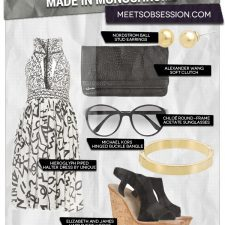 Made in Monochrome: Contrasting Black & White Looks