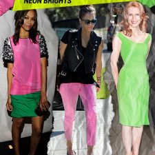Now Trending: Bright, Brilliant Neon