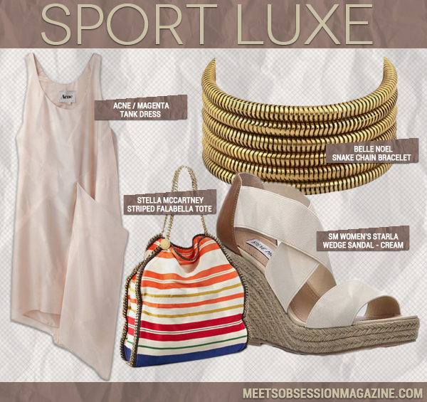 Game On! 3 Ways to Work a Sports Luxe Look