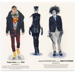 If Superman Were Real, He'd Wear D&G, According to One Fashion Illustrator