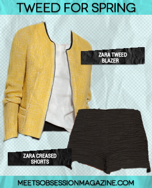 A Short & Sweet Pairing – How Work the Shorts and Blazer Look