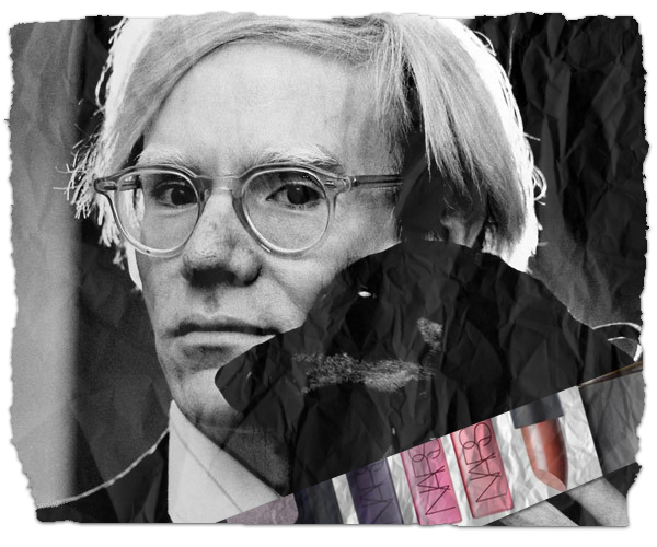 Andy Warhol is Having a Make-Up Moment with a Nars Collaboration
